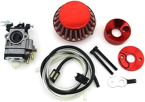 Racing Carby Carburetor Manifold Adaptor+Gasket 49cc Mini PIT DIRT QUAD BIKE ATV