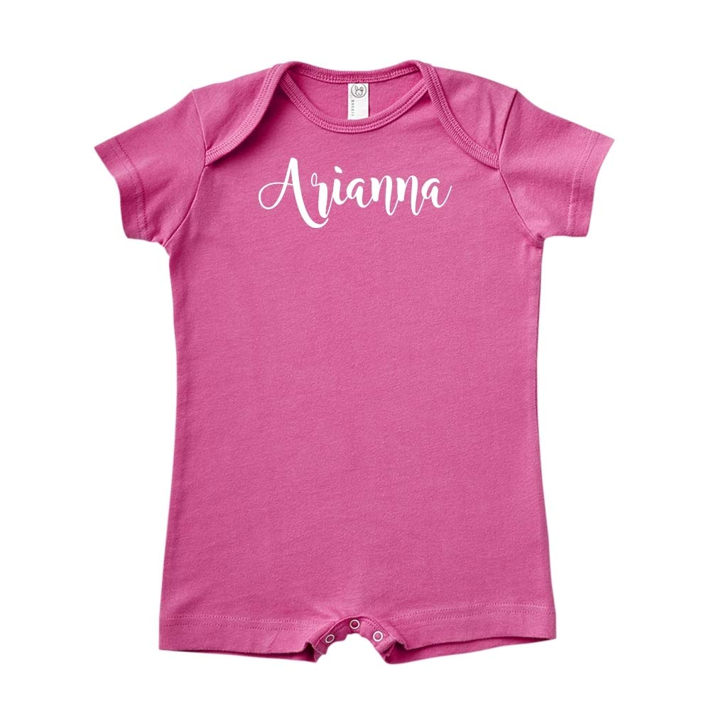 Mashed Clothing Arianna Personalized Name Baby Romper