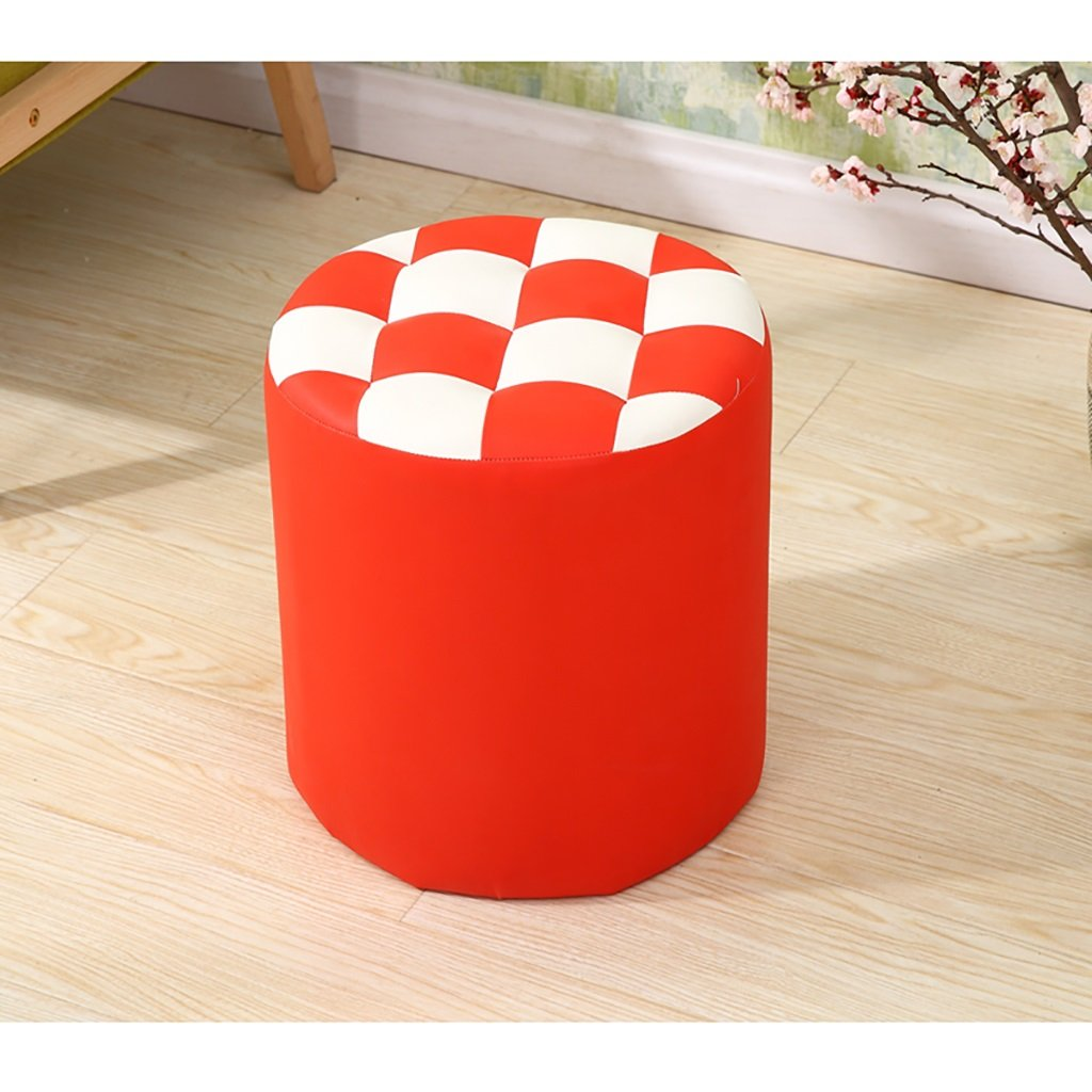 D XIAO YING JF Fashion furniture solid wood stool creative shoe bench variety of color durable Creative Sool (color   G)