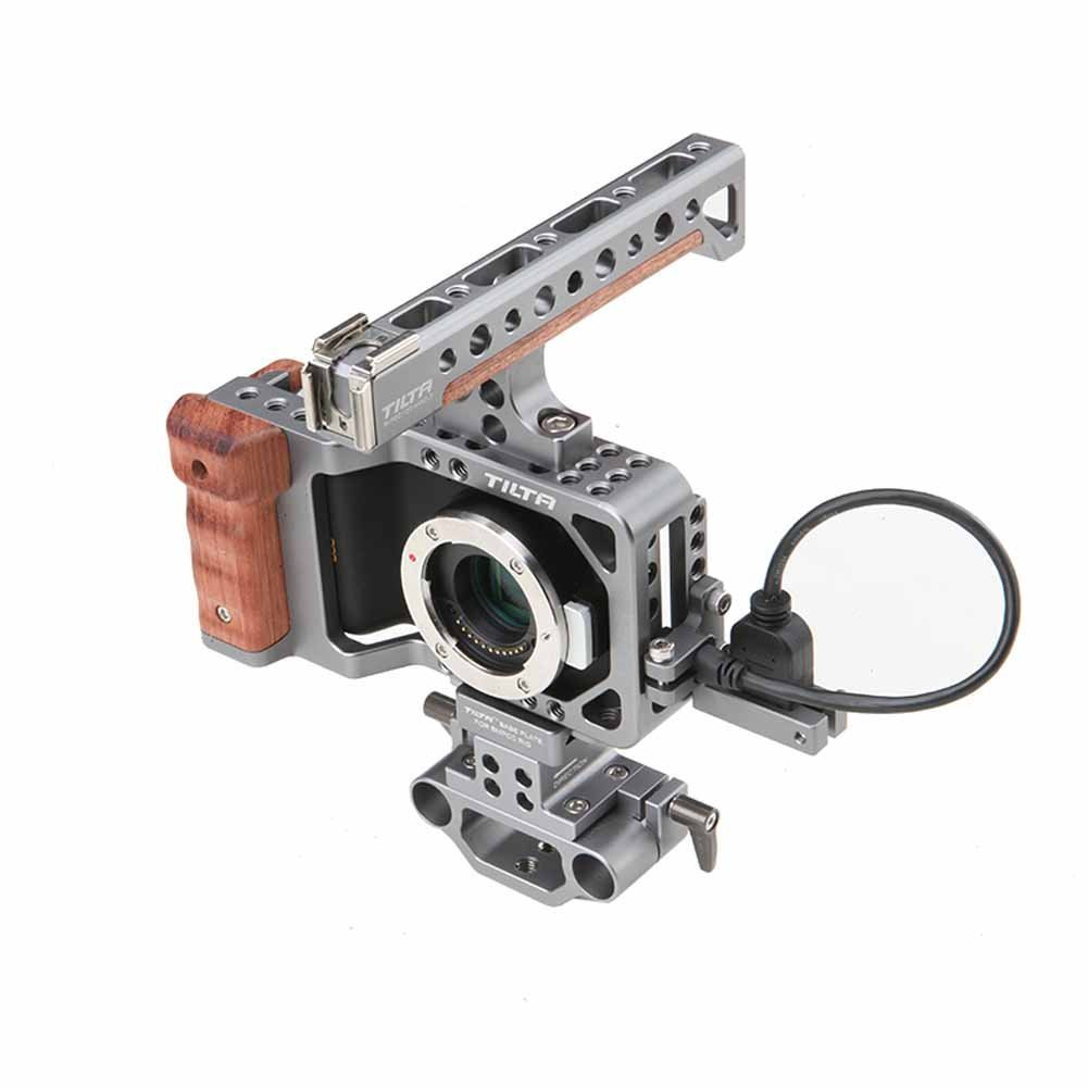 Tilta BMPCC Cage with 2 Rod + HDMI Cable by Tilta