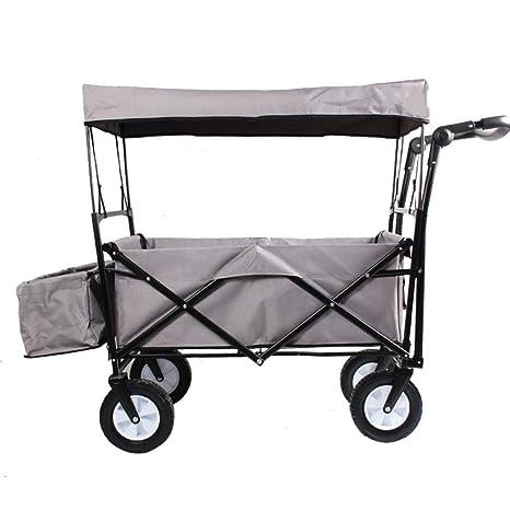 Camiones de Mano Utilidad Pull Wagon Plegable Carro de ...