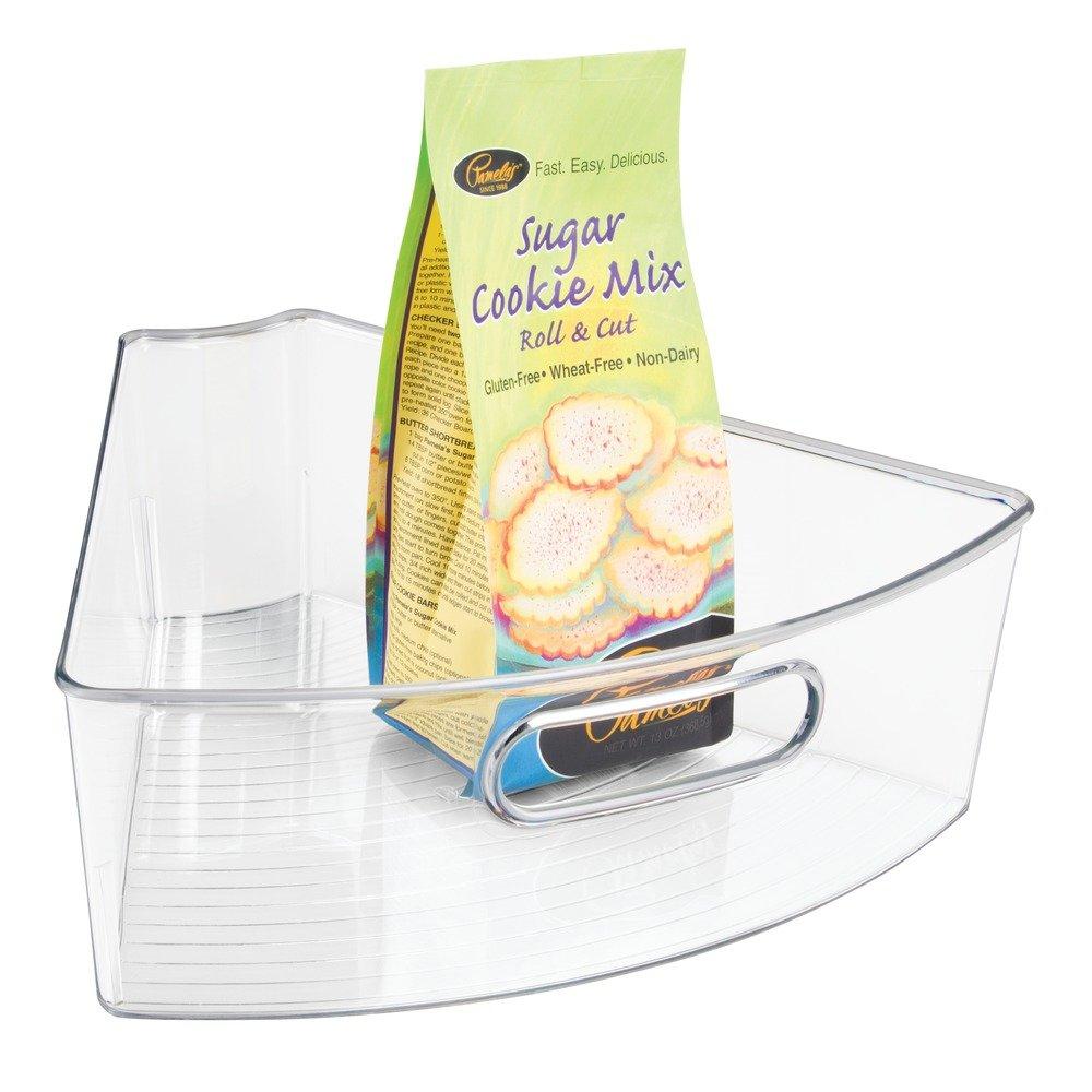 Amazon.com: InterDesign Kitchen Lazy Susan Pantry Cabinet Binz: Home U0026  Kitchen