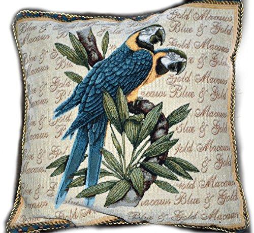 Needlepoint Pillows Birds - 8