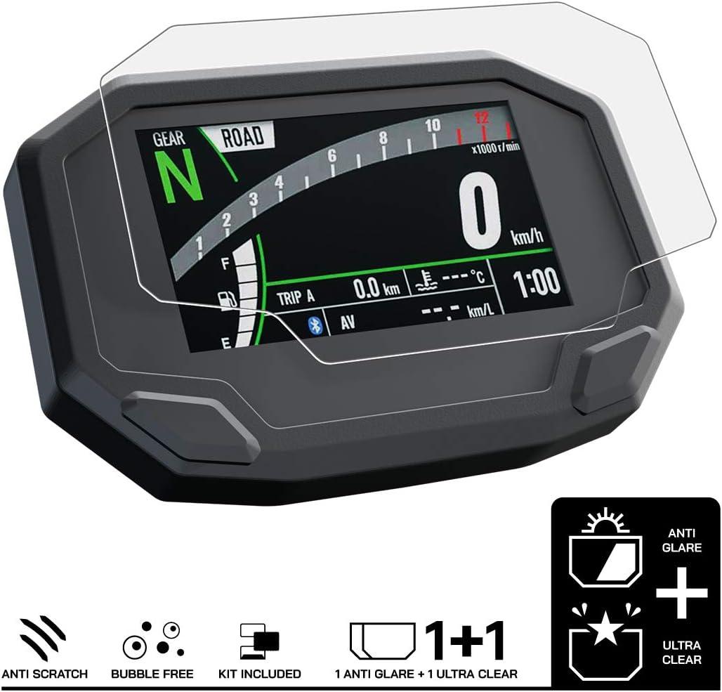 Speedo Angels Displayschutzfolie Tachoschutzfolie Für Ninja 650 2020 1 X Ultra Klar 1 X Entspiegelt Auto
