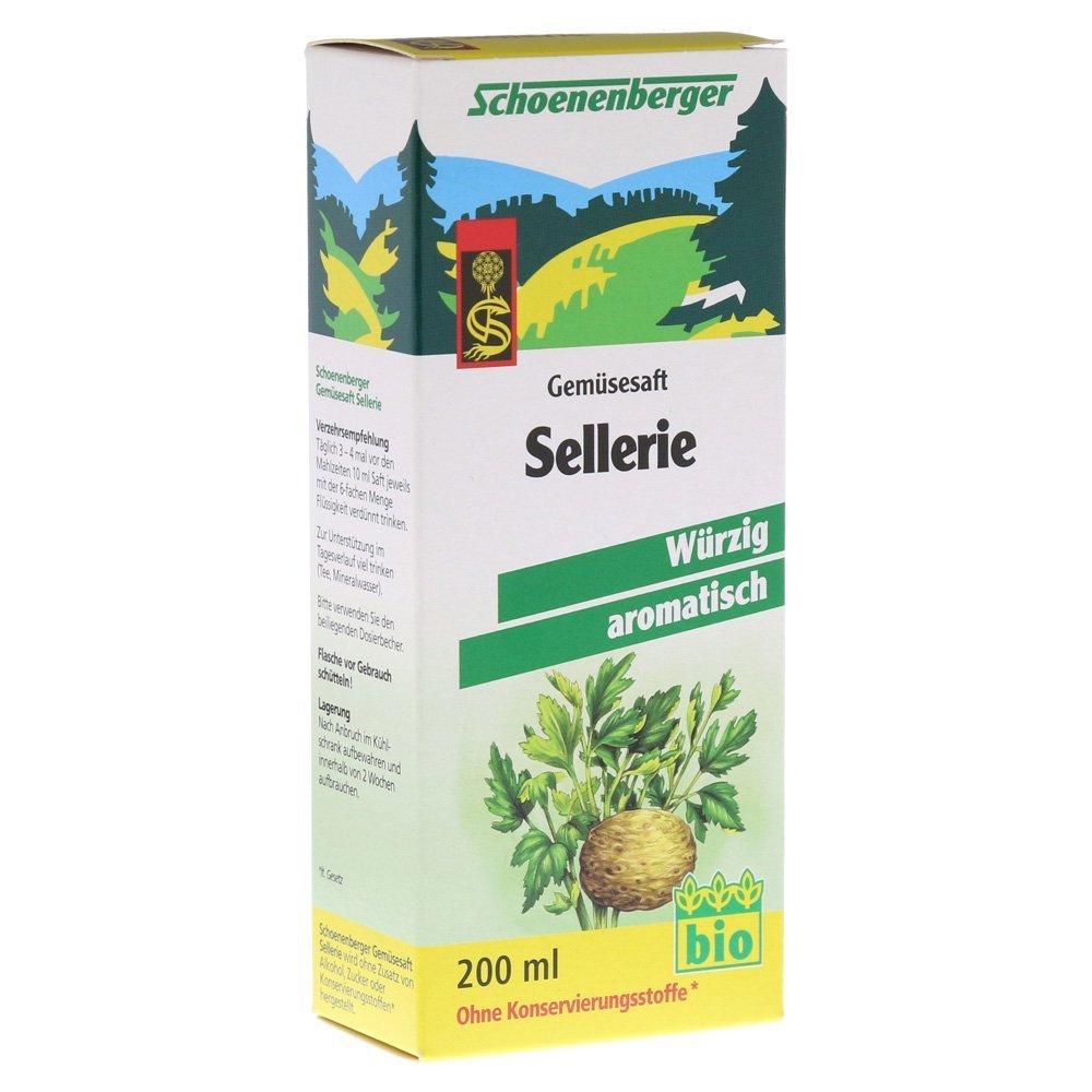 Salus Celery Plant Juice 200ml (2 Pack)