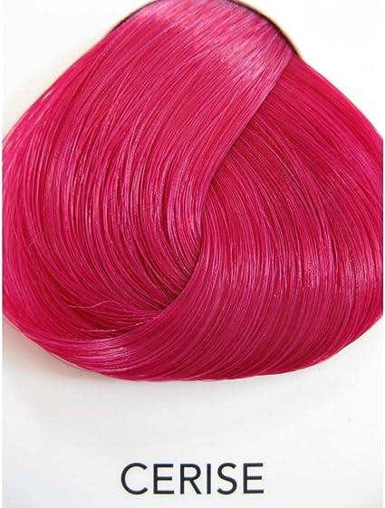 4 x La Riche Directions Semi-Permanent Hair Color 88ml Tubs - CERISE