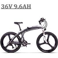 eBike_RICHBIT Vélo Électrique Pliant 26 '', RLH-880, 250W 36V 9.6AH, Freins à Disque hydrauliques ebike