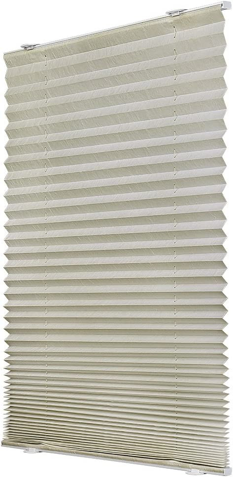 Kinlo cortinas para habitación sin agujeros, ventosa sólida de mesa para salón - Estor opaco enrollable, cortinas de poliéster, aislamiento térmico, estor velux anti-UV para decorar casa, 80x130cm: Amazon.es: Hogar