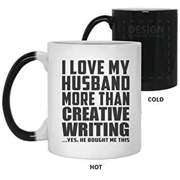 wife best gift idea i love my husband more than creative writing 11 oz color