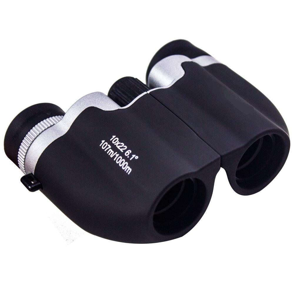 双眼鏡の子供、子供8 x 22双眼鏡、ミニSサイズ子供用高解像度Real Optics forハンティング、Bird Watching、アウトドア再生フリーコンパスギフト B07C389TP4