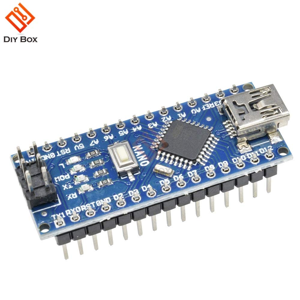 10PCS Nano 3.0 Controller Compatible for Arduino Nano CH340 USB Driver NO Cable