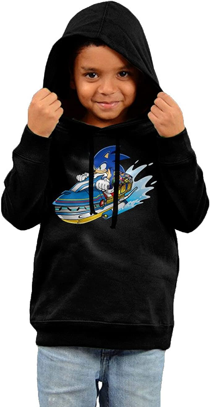 Amazon Com Toddler Kids Sonic The Hedgehog Game Hoodies Pullover Hooded Sweatshirts Clothing