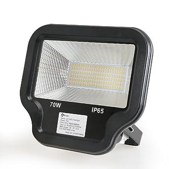 2X 50W SMD LED Fluter Sicherheit Strahler Licht Außen Wand Flutlicht Warmweiß