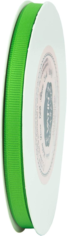 50-Yard Emerald Green VATIN Solid 1//4 Grosgrain Ribbon