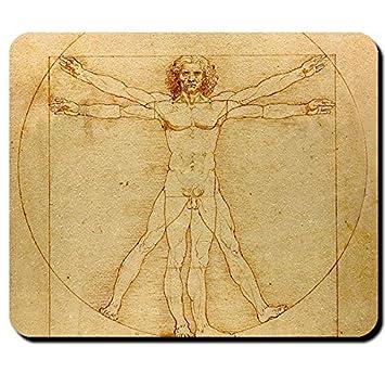 Leonardo Da Vinci de El hombre de Vitruvio de ciencia Anatomía ...