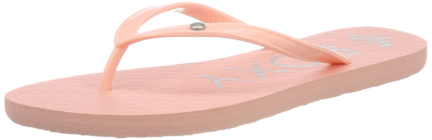 Peach Roxy Girls Sandy II Flip Flops