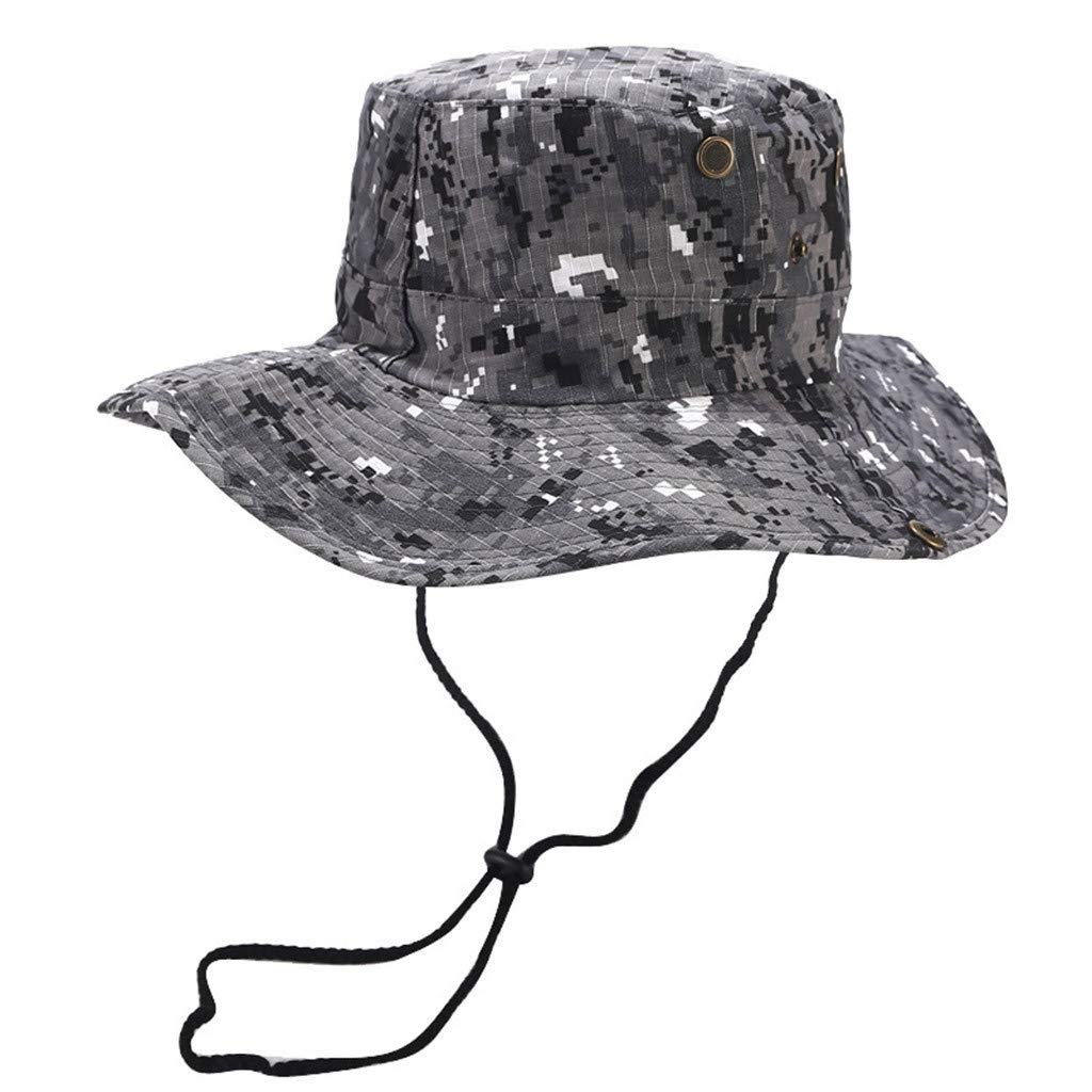 99Lamour Hat Chapeau Brousse Jungle US Army Commando Trooper Coloris Woodland Camouflage Taille Large Airsoft Paintball Chasse P/êche Randonn/ée Outdoor Sports et Loisirs