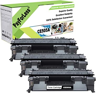 3PK CF280A 80A Laser Toner Cartridge for HP LaserJet Pro 400 M401n M401dn M425dn