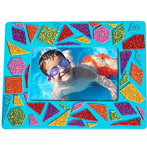 Mosaic Picture Frame Kit - Foam - Great Activity For Kids and Adults - 24 -
