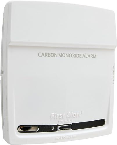 First Alert 10-Year Carbon Monoxide Alarm, White, CO910