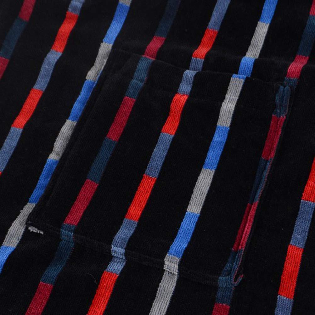 Bown of London Mens Luxury Egyptian Cotton Velour Bathrobe