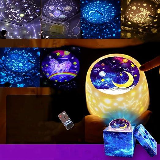 Proyector de luz de la Estrella romántica - Rotación, Océano ...