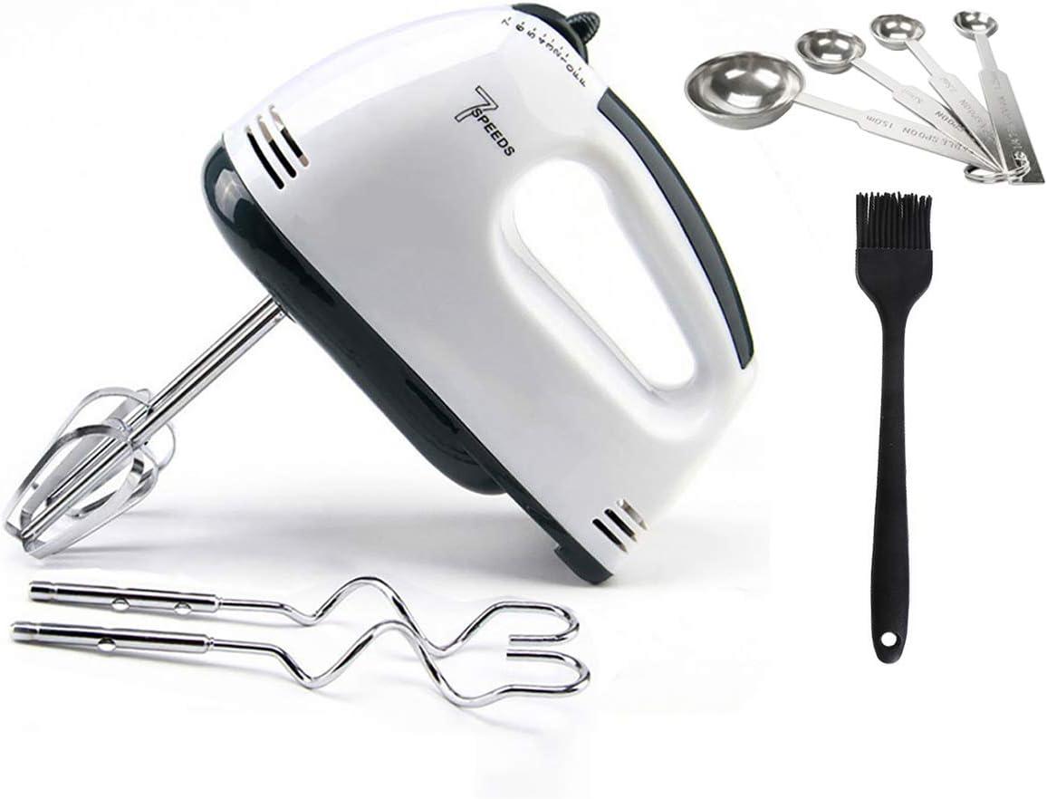 Leaflai Hand Mixer Electric Speed Kitchen, Mixer Baking Dough Hooks Whisk, Handheld Electronic Beater For Baking
