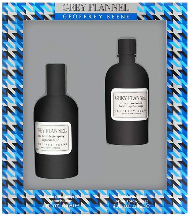 Grey Flannel Gift Set: This Set Contains Eau De Toilette Spray 4 Ounces + After Shave 4 Ounces for Men By Geoffrey Beene by Geoffrey Beene