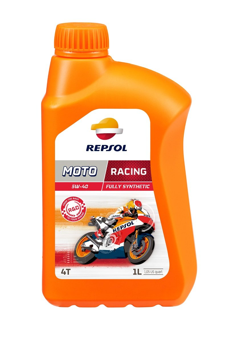 Repsol Moto Racing 4T 5W40 Motorcycle Engine Oil 1 L Repsol S.A. RP160L51 Z53-9218