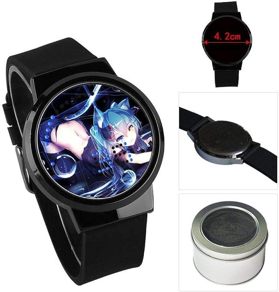 Montres Bracelet Anime Game Fort Montre De Nuit Tactile Tactile LED Montre Électronique Étudiant 11