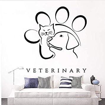 Etiqueta de la pared Medicina veterinaria Animal Pet Tatuajes de ...