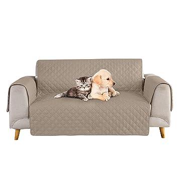 Petyoung Funda de sofá para Mascotas, Perros, Gatos, Fundas Protectoras de Muebles con Correa elástica, niños, Perros, Gatos, Asiento de sofá y sofá, ...