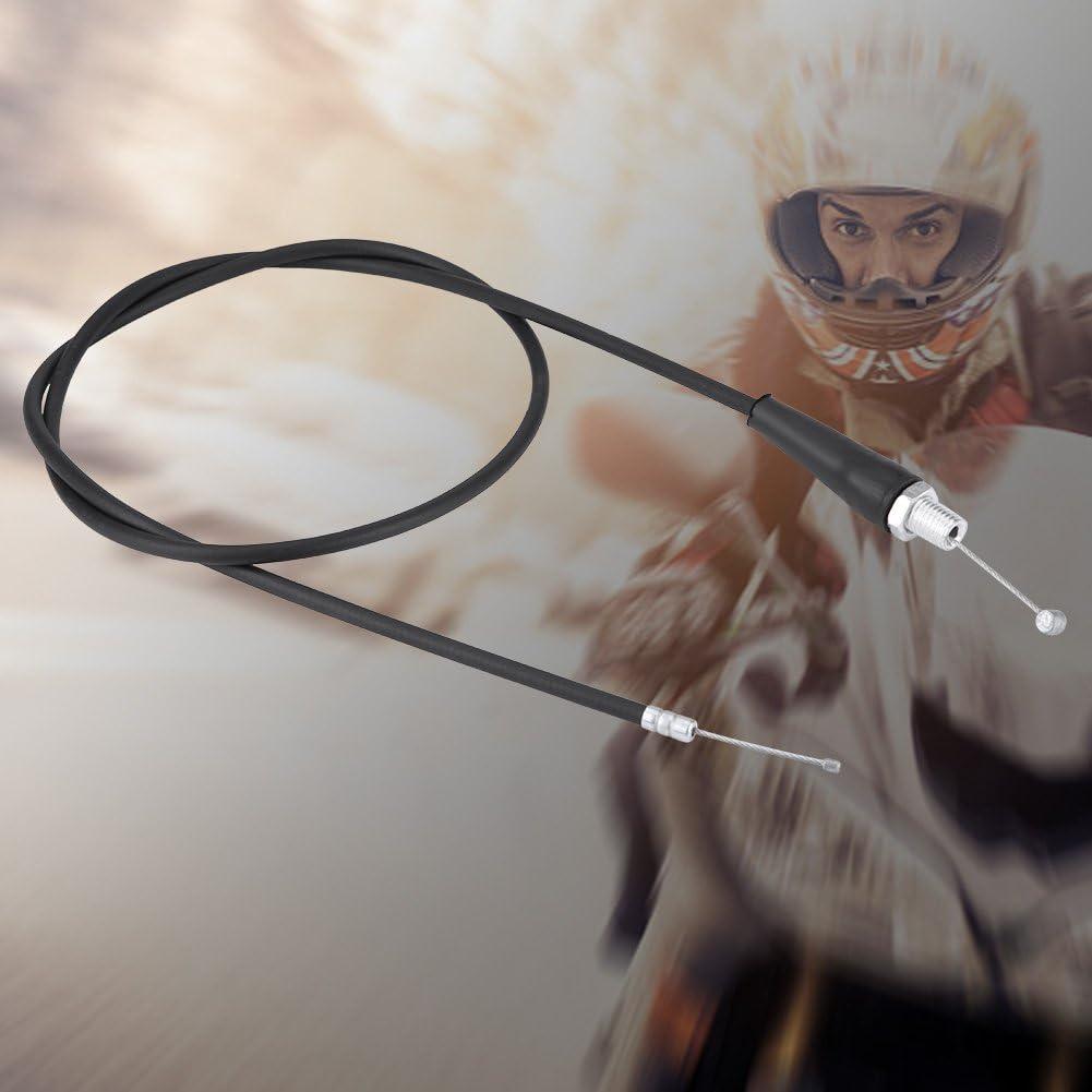 Nero M10 Qii lu 110 cm linea diritta moto acceleratore linea cavo olio con manicotto protettivo interno per pit dirt mot trail bike motocros