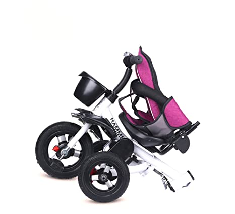 Lvbeis Niños Triciclo Sun Canopy Bicicleta Plegable ExtraÍBle Mango 1-5 Años,Blue: Amazon.es: Deportes y aire libre