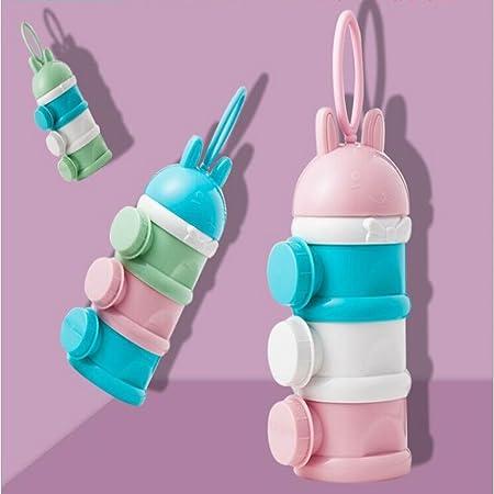 N/ützliche Milch Container F/üttern Neugeborene Baby Infant Kinder K/ünstliche Milk Powder Drei Gitter Snacks Candy