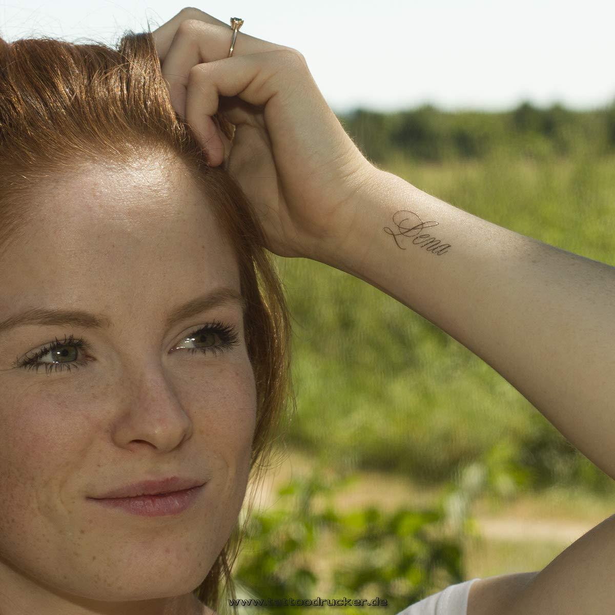 1 x elenita tatuaje como nombre - nombre de tatuaje: Amazon.es ...