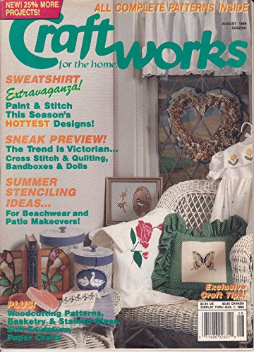 Magazine Craftworks - Craftworks for the Home Magazine, August 1989 [Vol. 5 No. 5]