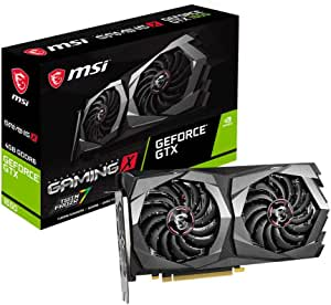 MSI Gaming GeForce GTX 1650 128-Bit HDMI/DP 4GB GDRR6 HDCP يدعم بطاقة الرسومات دايركت اكس 12 المزدوجة في ار الجاهزة لبطاقة رسومات OC (GTX 1650 D6 GAMING X)