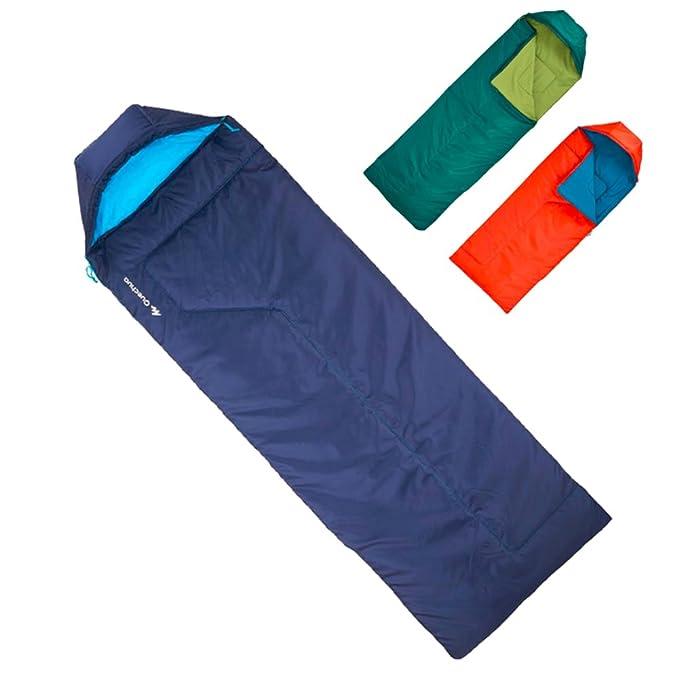 SWEET HONEY HIKING Saco de Dormir Momia Ultralight para Adultos,Aire Libre Camping Niños Saco de Dormir Portable Impermeable Compacto Ligero-A ...