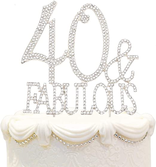 Fabulous Amazon Com Hatcher Lee Bling Crystal Fabulous And 40 Birthday Personalised Birthday Cards Cominlily Jamesorg