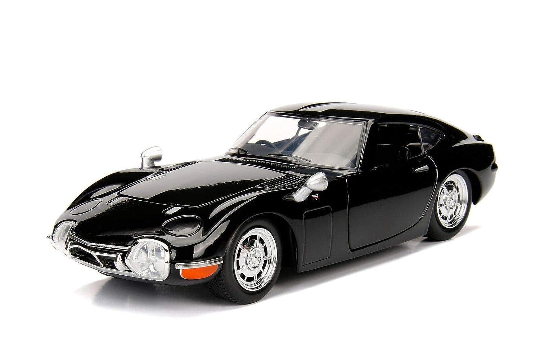 Amazon com: Jada 1967 Toyota 2000GT Coupe Black \JDM Tuners
