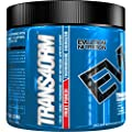 Evlution Nutrition Trans4orm Thermogenic Energizer Powder, Fruit Punch, 30 Servings (5.3 Ounce)