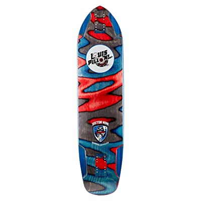 "Sector 9 Louis Pro Longboard Deck - Ripped - 9.75"" : Sports & Outdoors"