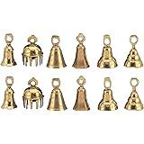 """Dozen 3""""- Assorted Brass Bells"""