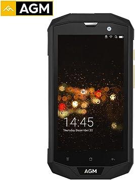 iPenty Handy AGM A8Se Smartphone IP68 Resistente al Agua Funda 5,0 Pulgadas HD 1280 * 720 2 GB Memoria 16 GB ROM Qualcomm MSM8916 vierer Cable Núcleo 8.0 MP 4050 mAh OTG: Amazon.es: Electrónica