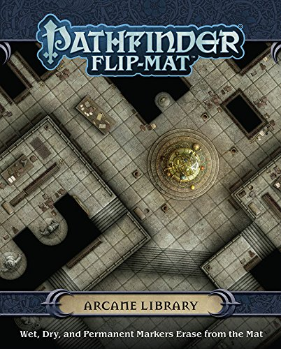 Pathfinder Flip-Mat: Arcane Library (Gamemastery Flip Map)
