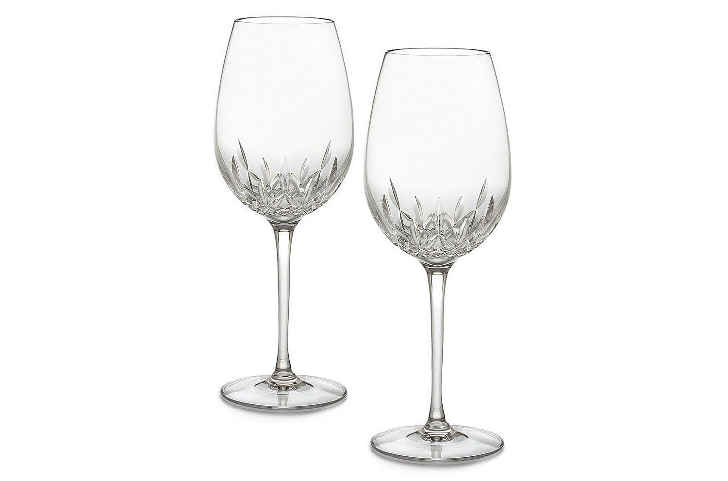 Waterford Crystal Lismore Essence Wine Goblet Set of 2