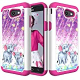 Galaxy J3 Emerge Case, J3 2017 Case, J3 Prime Case,DAMONDY 3D...