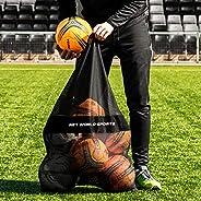 Sports Vest & Ball Carry Bag - Drawstring Bag for Storing Team Vests, Balls, & Training Gear [Net Worl