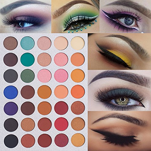 Beauty Glazed Eyeshadow Palette Professional Eye Makeup Set Pigment Long Lasting Matte Eye Shadow Palette Cosmetic Kit Nature Convenient To Cook Eye Shadow Beauty Essentials